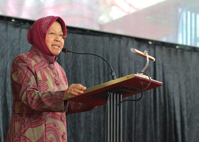 Peringatan Hari Kartini, Walikota Surabaya Tri Rismaharini Ajak Mahasiswa UPN Untuk Tidak Takut Untuk Berkarya