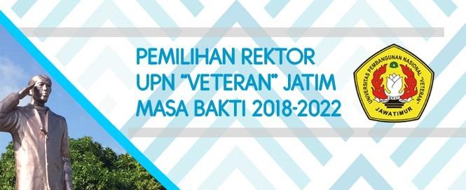 """Hasil Penyaringan Calon Rektor UPN """"Veteran"""" Jawa Timur"""