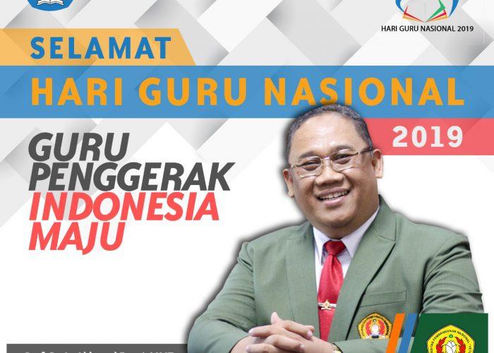 Hari Guru Nasional 2019