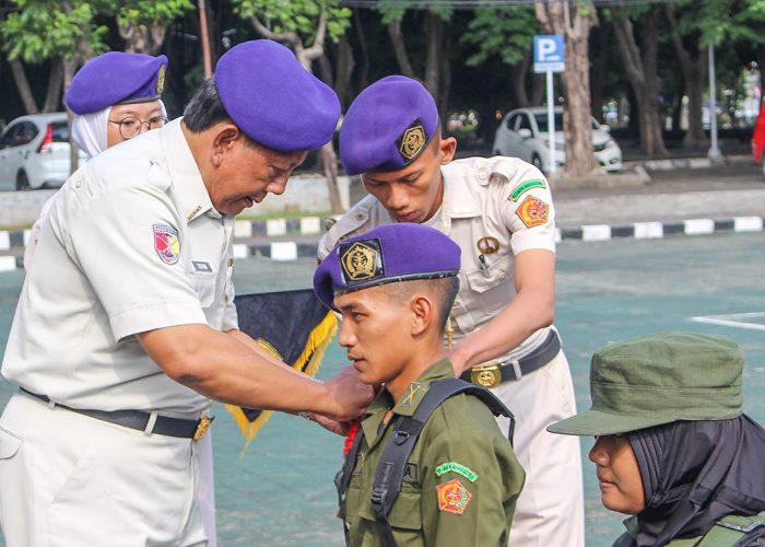 Siapkan Kader Bela Negara Yang Unggul, Resimen Mahasiswa UPNVJT Gelar Pradiklatsar 73