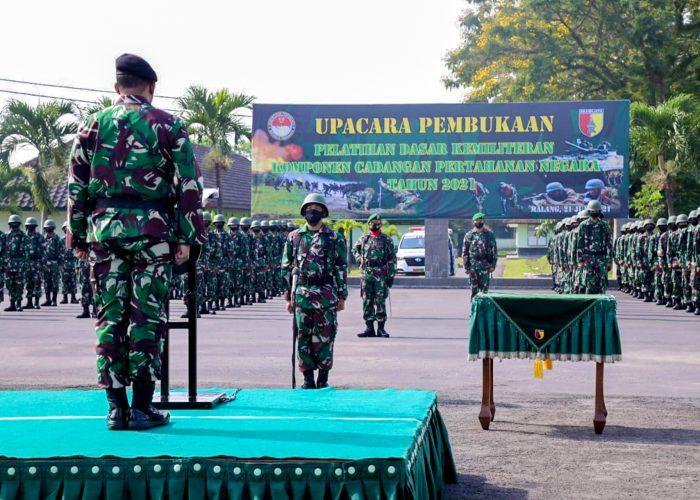 UPN Veteran Jawa Timur Turut Ambil Bagian Dalam Pembentukan Komponen Cadangan (KOMCAD) Tahun 2021