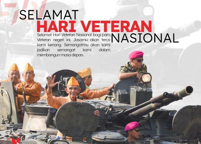 Selamat Hari Veteran Nasional 2021
