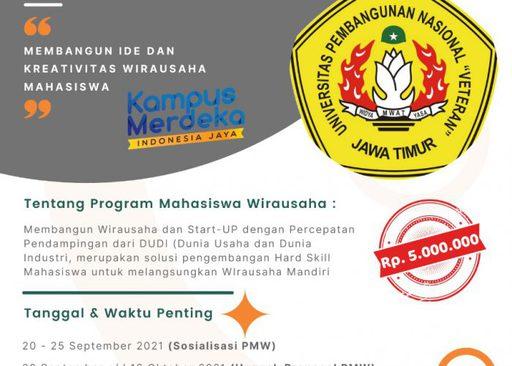 Kompetisi Program Mahasiswa Wirausaha 2021